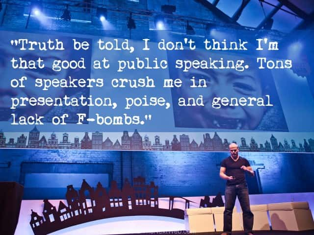 presentation tips - public speaking tips - tim ferriss
