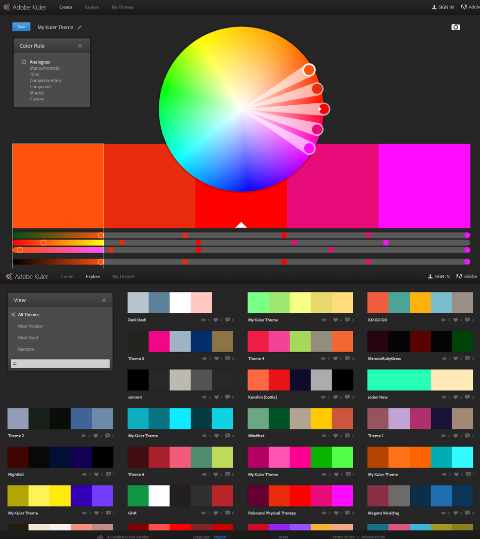 powerpoint tips - how to pick colors - adobe kuler