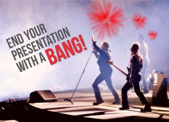powerpoint tips how to close your presentation