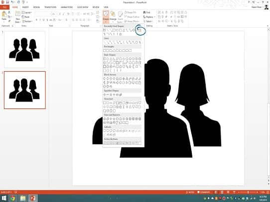 presentation tips - freeform shape tool 3
