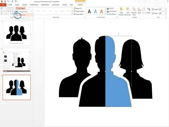 presentation tips - freeform shape tool 5