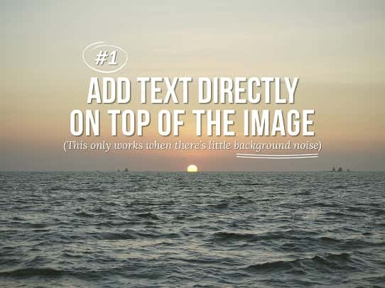 presentation tips - how to overlay text on images 2