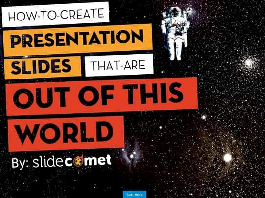 PowerPoint Tips - How to create a presentation out of this world