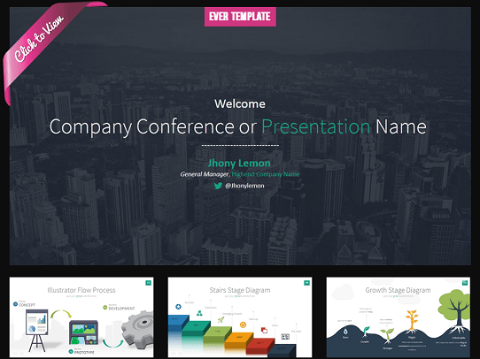 Professional PowerPoint Templates - Ever Template
