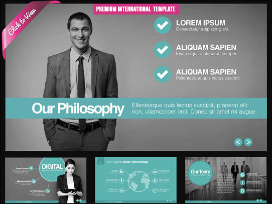 10 professional powerpoint templates youll think are cool cool powerpoint template premium template toneelgroepblik