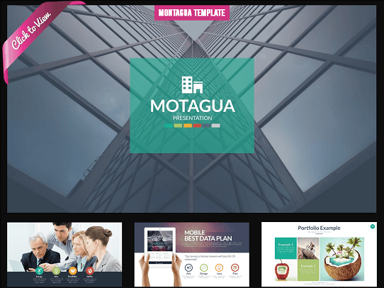 cool powerpoint templates - slide templates - montagua