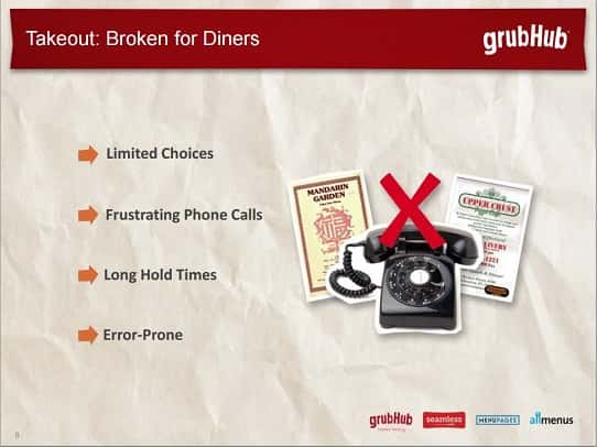 powerpoint design tips - investor presentation lessons from GrubHub