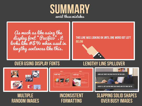 PowerPoint Design Tips - 5 Common Mistakes To Avoid