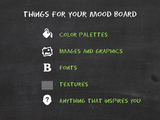 PowerPoint Tips - What To include in your Mood Board - Presentation Tips