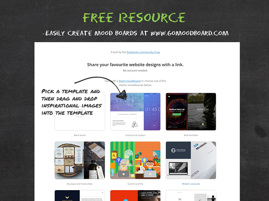 Presentation Design Tips - Free Resource - GoToMoodBoard.com