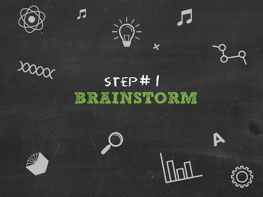 Presentation Design Tips - How to build a theme - Brainstorm