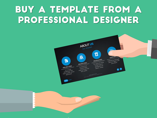Presentation Design Tips - How to design an awesome presentation template - Tip#1