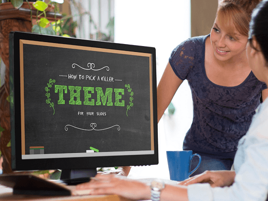 Presentation Tips - Get Feedback on Your Theme Early