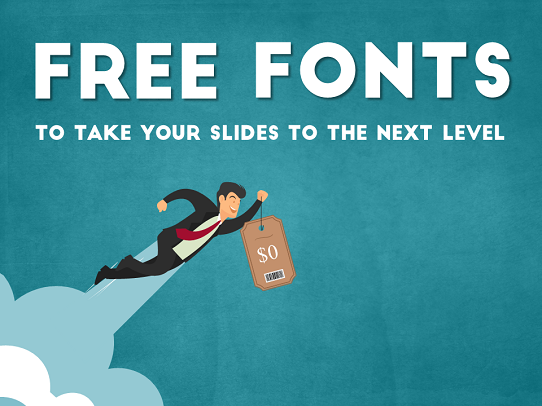 download these free fonts to improve your presentations
