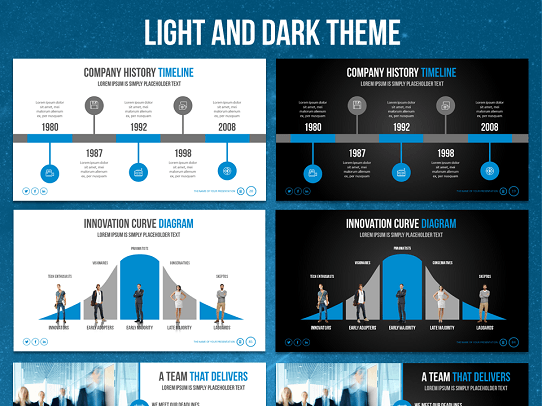 Your search for the best powerpoint template is over awesome powerpoint template awesome presentation template influencer toneelgroepblik Gallery