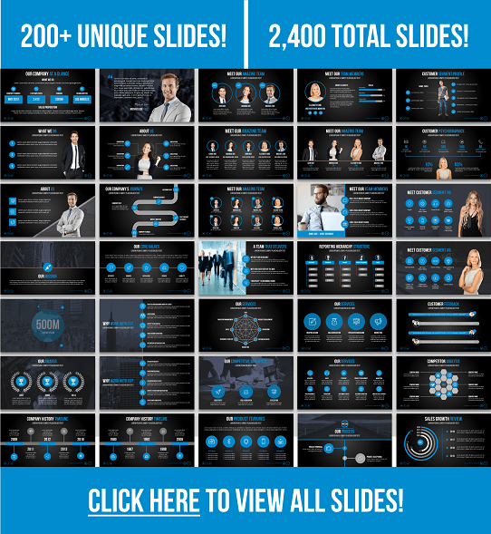 Best PowerPoint Template - Cool Presentation Template - Influencer Template