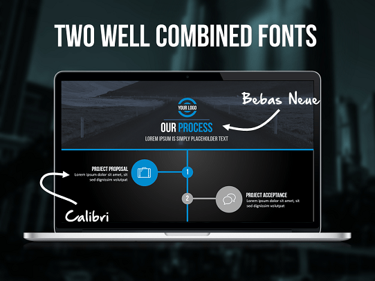Fonts cool powerpoint template professional presentation template influencer template 6 toneelgroepblik Image collections