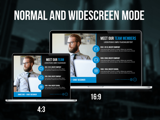 Cool PowerPoint Template - Professional Presentation Template - Influencer Template