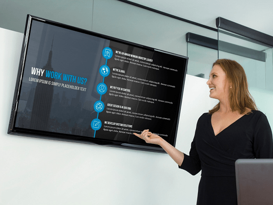 Free PowerPoint Template - Professional PresentationTemplate - Influencer Template