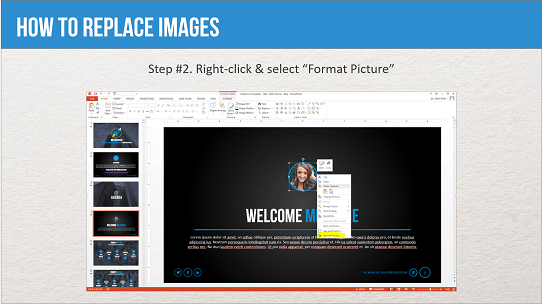 Professional PowerPoint Template - Influencer - Help Guide