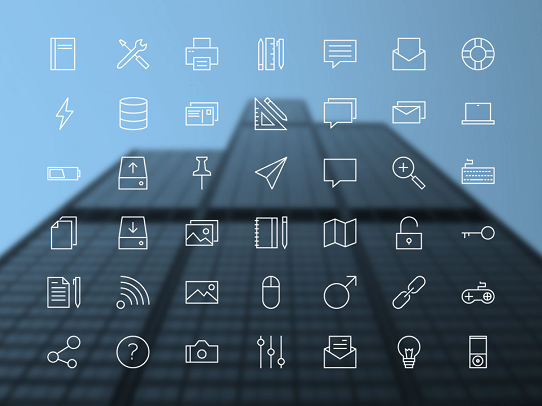 PowerPoint Design Tips - Free download icon for presentation - Linea PowerPoint Icons