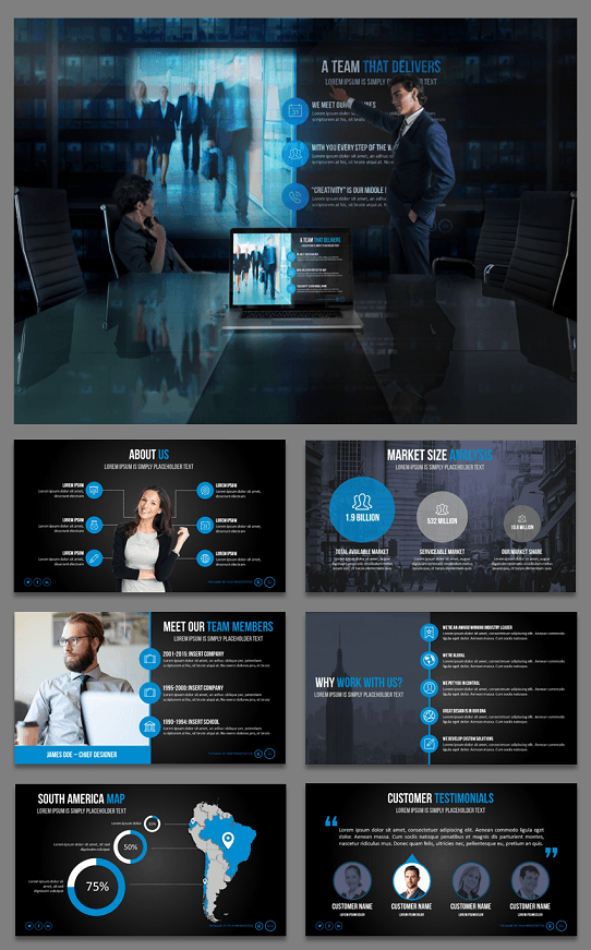 best PowerPoint template - best presentation template - best powerpoint template 2016