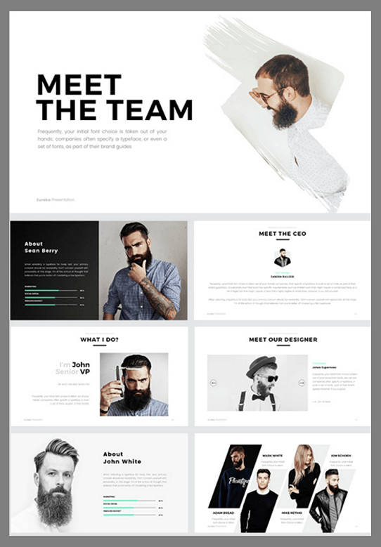 The 5 best powerpoint templates of 2016 clean powerpoint template creative powerpoint template toneelgroepblik Image collections