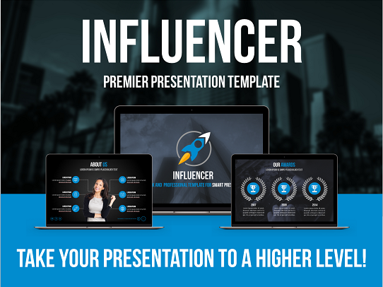 Best PowerPoint Template - Professional PowerPoint Template - Cool PowerPoint Template - Influencer PowerPoint Template