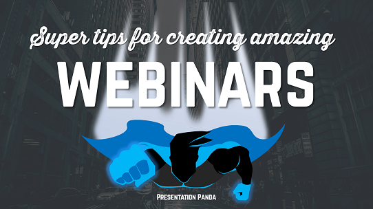Webinar Tips - Presentation Design Tips for Webinars - Create a Cover Slide That Grabs Your Audience's Attention