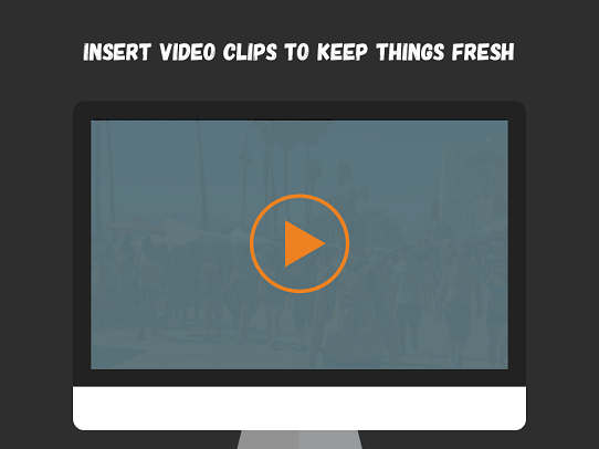 Add video to your presentation to make it more engaging