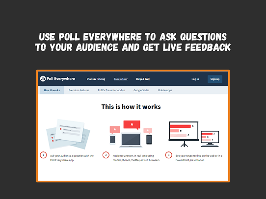Make an engaging PowerPoint with PollEverywhere