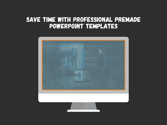 Powerpoint presention tips - use premade templates