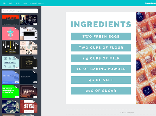 browse canvas powerpoint templates to find presentation inspiration