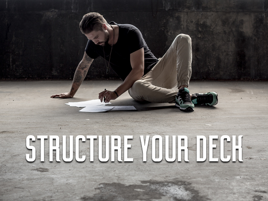 structure your slides for your interview presentation