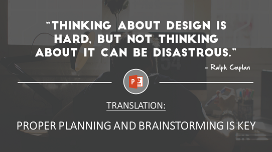 motivational-quotes-powerpoint-presentation - planning and brainstorming is key