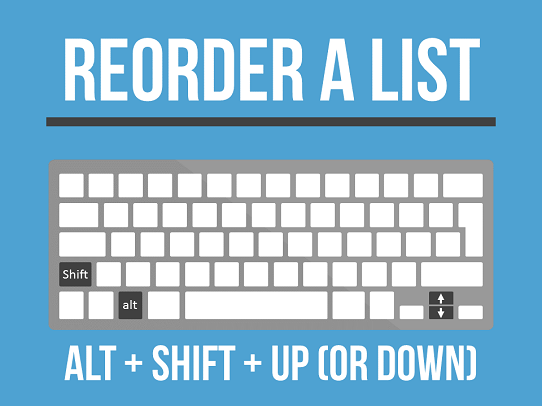 best-powerpoint-keyboard-shortcuts-reorder-a-list-using-alt-shift-up-or-down