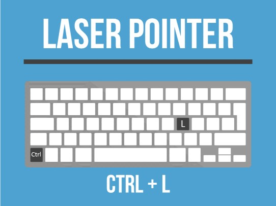 clever-powerpoint-keyboard-shortcuts-turn-on-laser-pointer-with-control-l