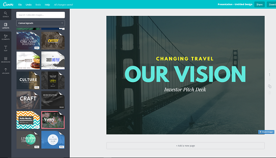 Canva A Fast And Super Simple Free Online Tool To Easily Create Slides
