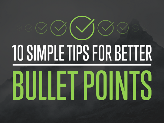 how to get bulletpoints in powerpoint