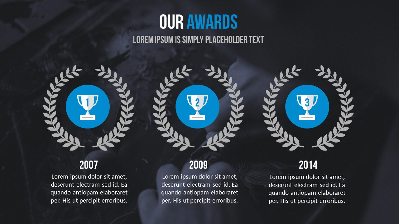 persuasive webinar - include and awards slide to show authority