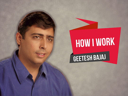How I work - Geetesh Bajaj - Presentation Panda