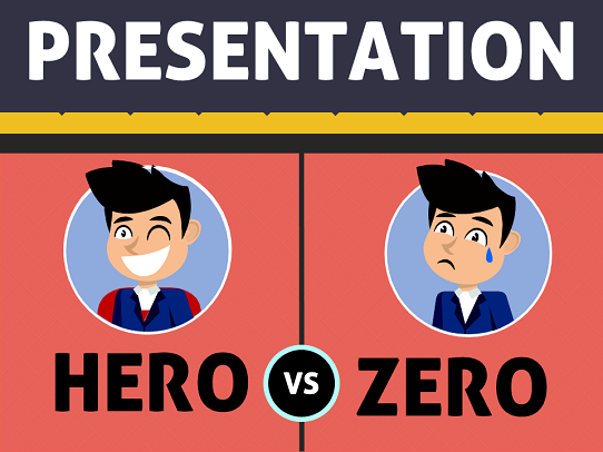 Presentation hero vs zero