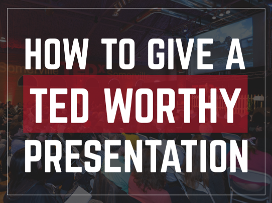 how to give a great presentation ted talks using PowerPoint