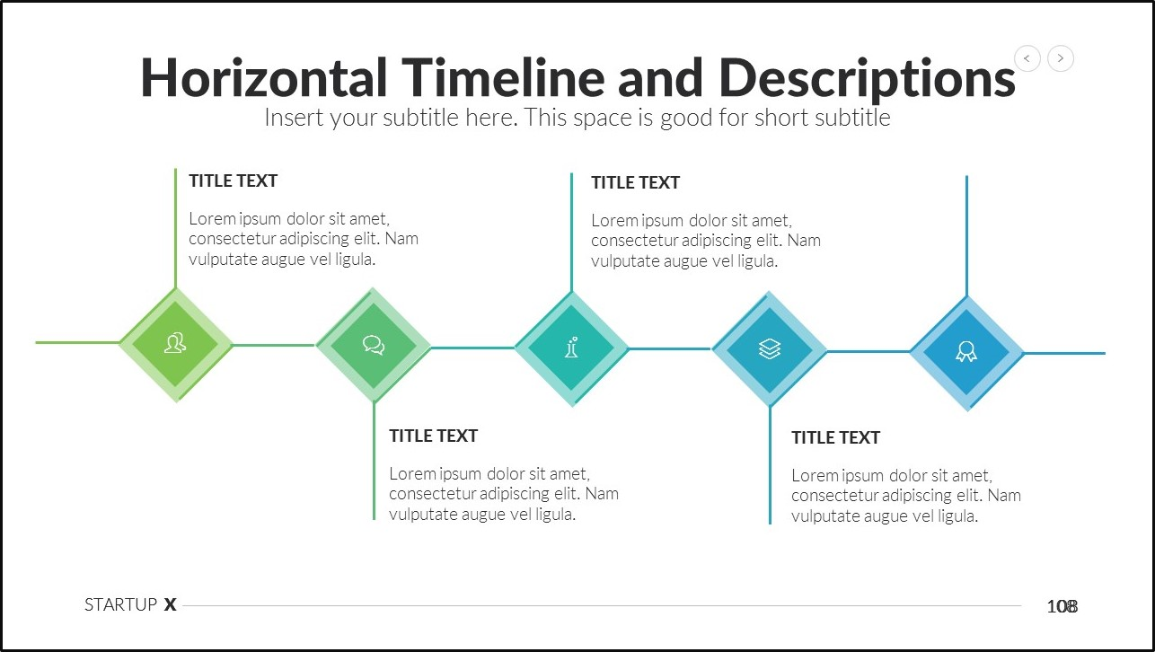 how to fix a boring powerpoint presentation - split bullets on top and bottom