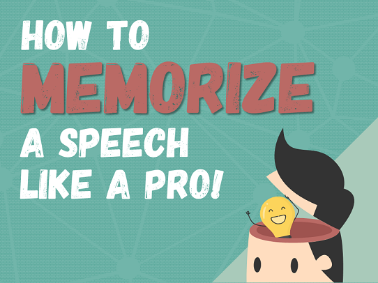 Memorize a Speech Perfectly (Without Notes) Using this Secret Image Method