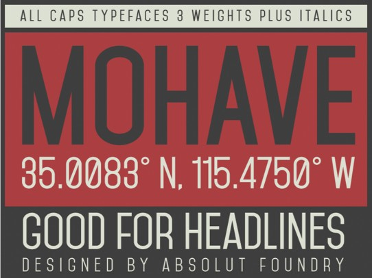 best fonts for powerpoint - mohave