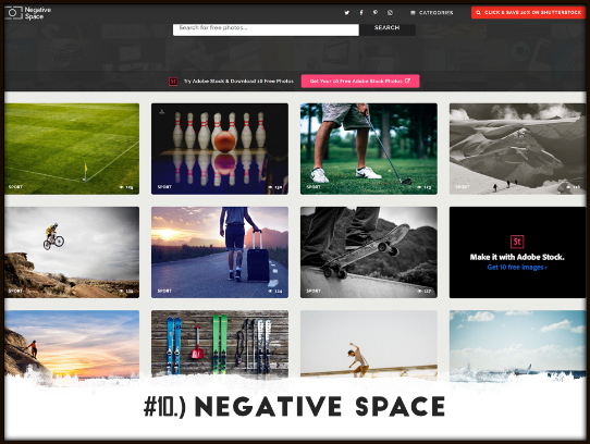 Amazing FREE Images For Your Presentations - negative space - - free images for powerpoint