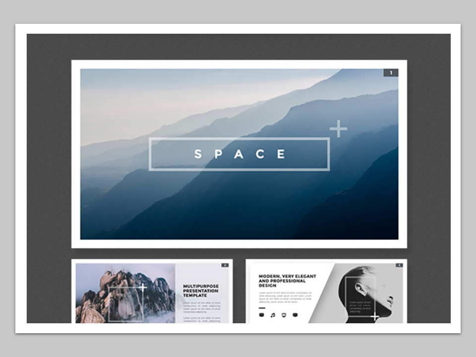 best powerpoint templates 2018 - space template