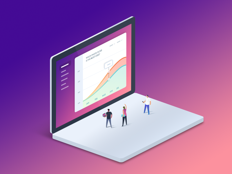 Presentation Design Trends for 2018 - gradients and color transitions
