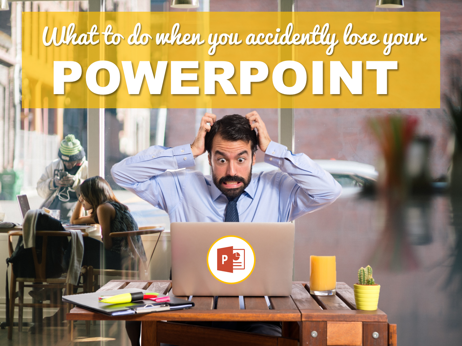 What to do when you accidently lost or deleted your PowerPoint